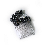 Anchor Gray Metallic Luster Nugget Mini-Combs CO516
