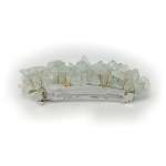 Aquamarine Barrette (Gold Filled) 70mm BA130GF