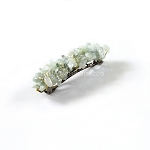 Aquamarine Nugget Barrette 60mm BA416