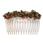 Unakite Nugget Comb CO1958