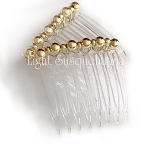 Gold Mini-Comb Pair (40mm)  CO463