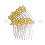 Primrose Yellow Mini-Comb Pair (40mm)