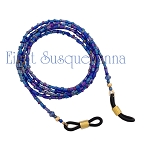 Blue Rainbow Eyeglass Chain GL162