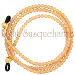 Eyeglass Chain, Amber Frost Glasses Leash GL2534