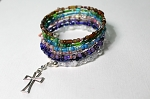 7 Days of Faith Bracelet Memory Wire BR478