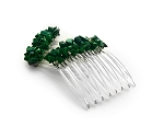Malachite Nugget Mini-Comb Pair (40mm) CO503