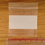 Reclosable 2x2 inch Plastic Zippy Bags White Block 100 count FREE SHIPPING