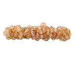 Peach Luster Hair Barrette 70mm BA700
