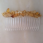Golden Citrine Comb 82mm CO252