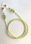 Lime Luster with Butterflies Glasses Leash Eyeglass Chain GL361