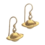 Gold-Filled Space Earrings