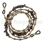 Tiger Eye Bronze Metallic Glasses Leash Peeper Keeper GL2583