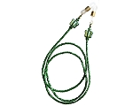 Kelly Green with Iridescent Butterflies Glasses Leash Eyeglass Chain GL366