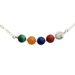 Five Elements Chakra Balancing Necklace NE1558