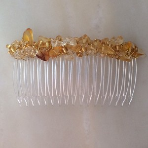 Golden Citrine Comb 70mm (2 3/4 in.)