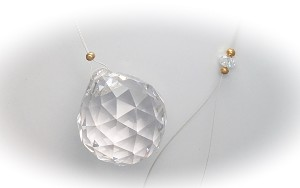 Crystal Suncatcher - Click image for more detailed view