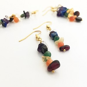 Gemstone Chakra Earrings KIT
