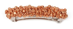 70mm Copper Metallic Barrette BA1562