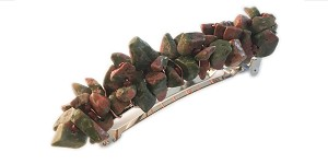 Unakite epresents grounding, positivity, and stability.